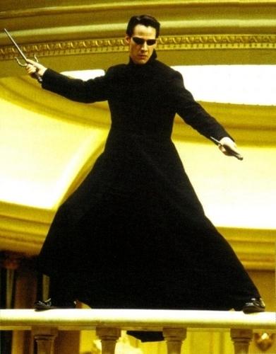 The Matrix wallpaper titled Neo