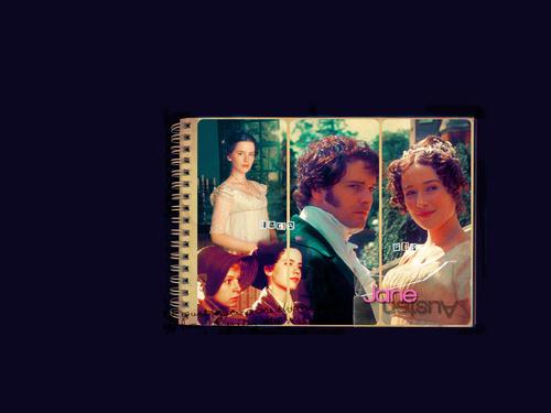 Jane Austen Обои entitled P&P / Emma