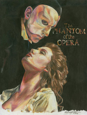 Das Phantom der Oper Hintergrund possibly with Anime titled POTO