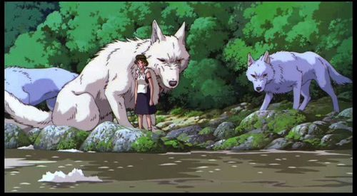 Princess Mononoke wallpaper with a lippizan entitled Princess Mononoke
