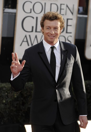 साइमन बेकर वॉलपेपर containing a business suit, a suit, and a single breasted suit called Simon Baker