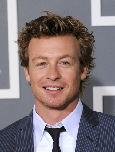 Simon Baker wallpaper containing a business suit, a suit, and a pinstripe titled Simon Baker