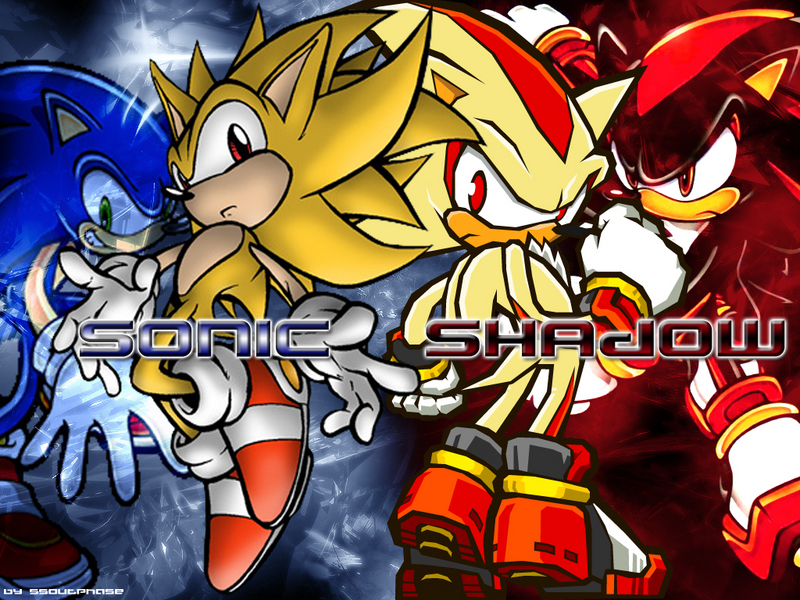 wallpapers sonic. shadow wallpapers. Sonic and