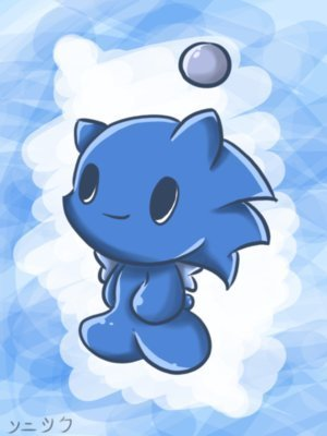 Sonic the Hedgehog wallpaper called Sonic chao