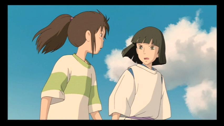 do chihiro and haku meet again lyrics
