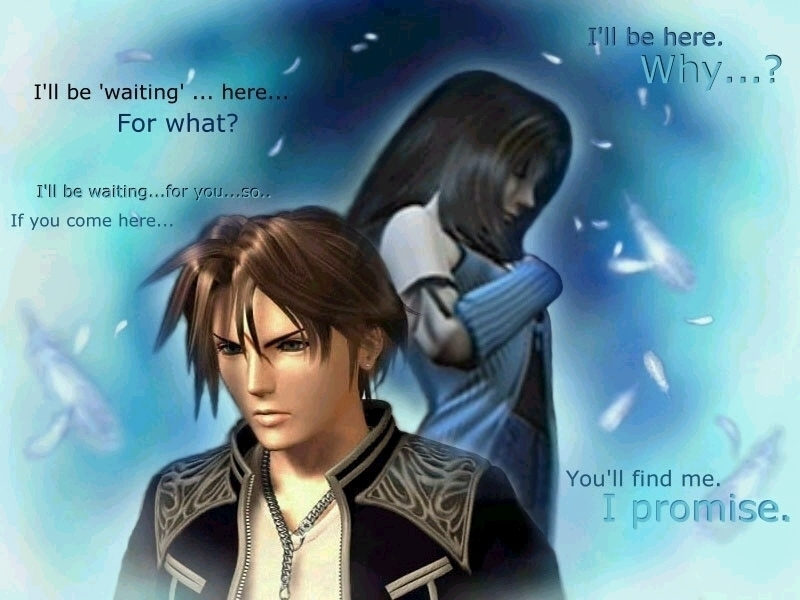 Squall And Rinoa Wallpaper Squall And Rinoa