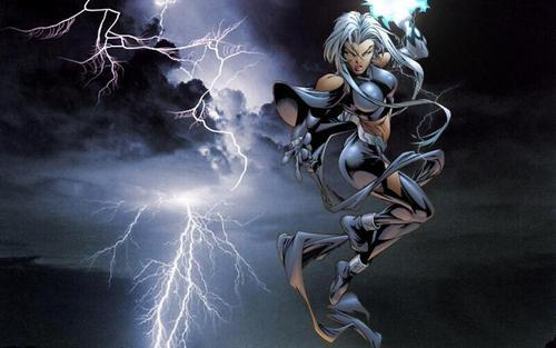 X-Men wallpaper possibly with a japanese apricot titled Storm