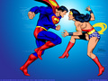 wonder-woman - Superman And Wonder Woman wallpaper