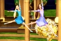 Twins in Gran Jete - barbie-movies photo