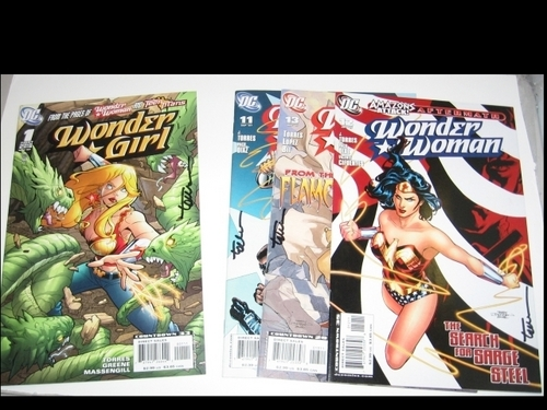 Wonder Girl And Wonder Woman