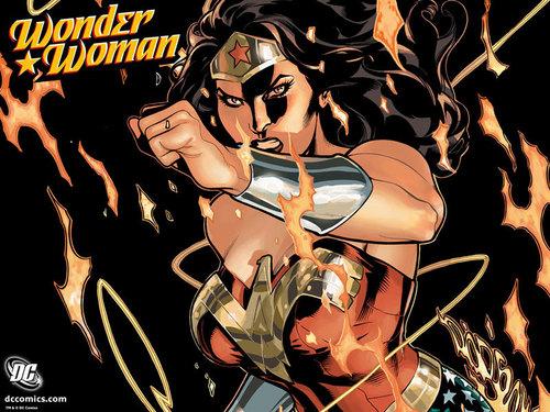 mulher Maravilha wallpaper containing animê entitled Wonder Woman