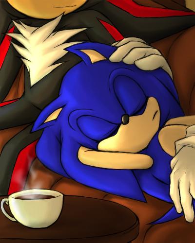 falls asleep