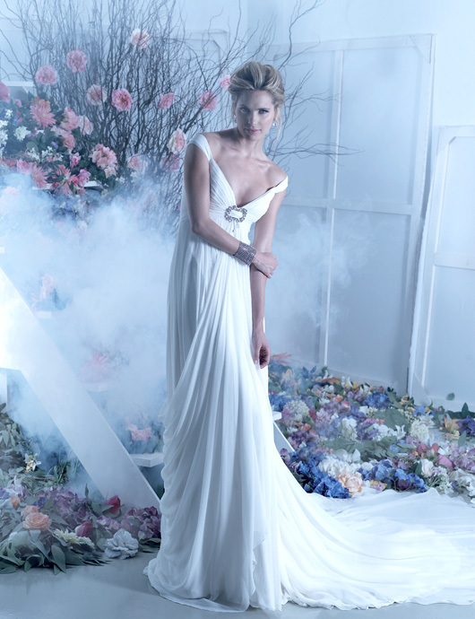 Beautiful Wedding Dress Greek Style Greece Wedding Dress
