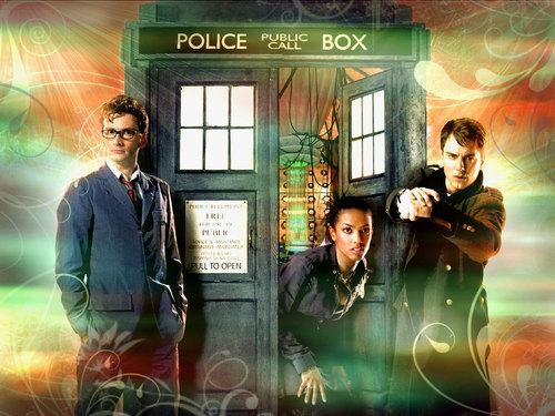 10th Doctor & Martha & Jack Header