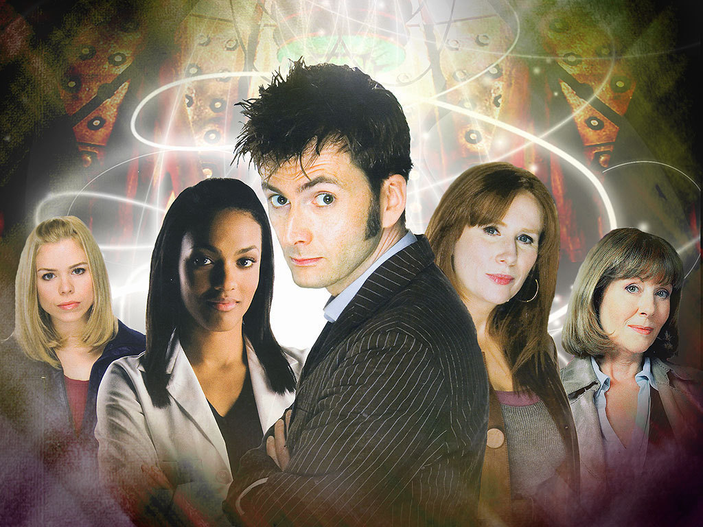 10th Doctor and Companions Header