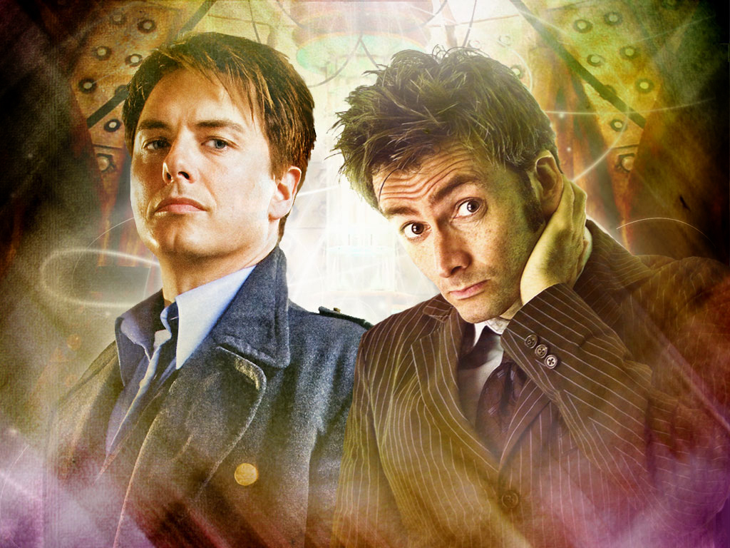 10th Doctor and Jack Header