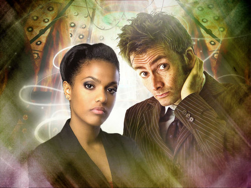 10th Doctor and Martha Header