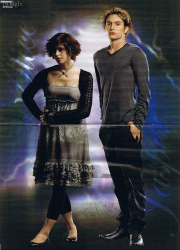 Alice and Jasper Bravo Poster