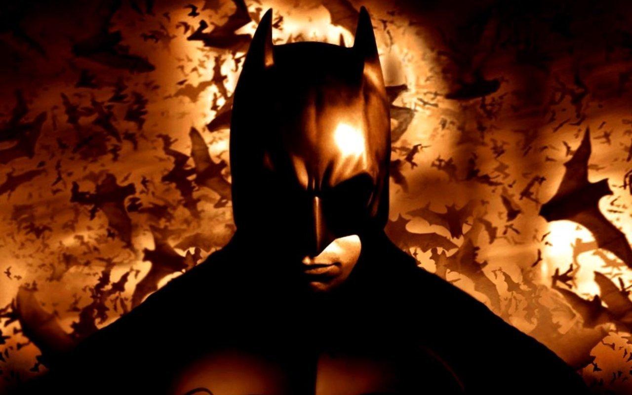 バットマンと沢山のコウモリの壁紙
