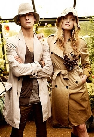 burberry کے, بربیری Spring/Summer Campaign