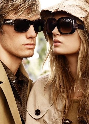 Alex Pettyfer wallpaper containing sunglasses called burberry Spring/Summer Campaign