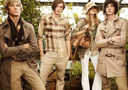 Burberry Spring/Summer Campaign - alex-pettyfer Photo