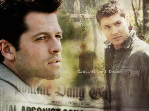 Castiel and Dean