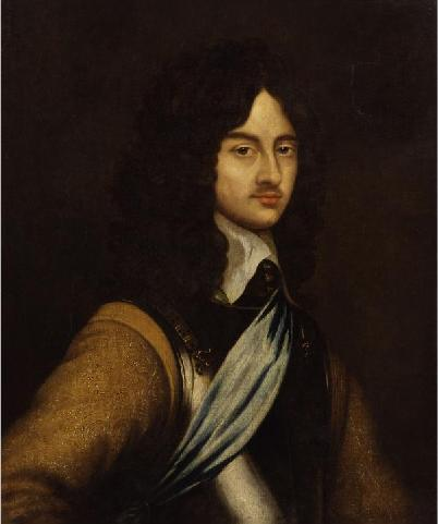 Kings and Queens wallpaper entitled Charles II of England 18 years old