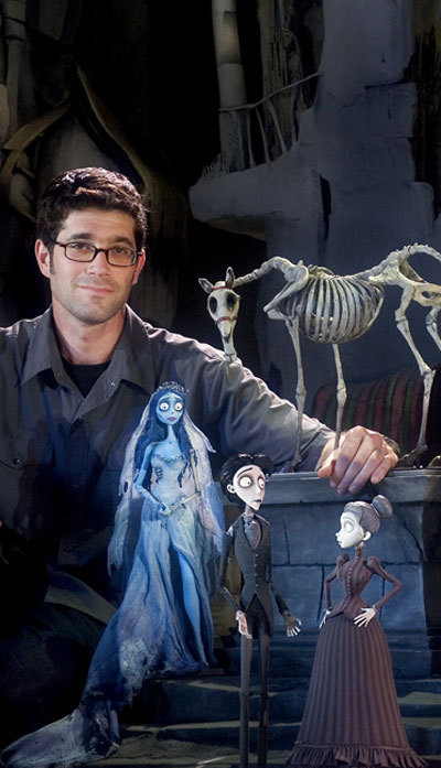 Corpse Bride making the film