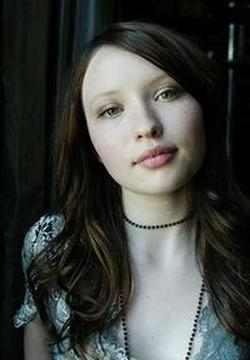 Emily Browning kertas dinding with a portrait entitled Emily