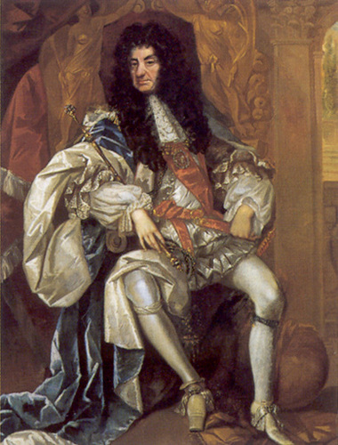 王と女王 壁紙 titled England's Charles II at age 55
