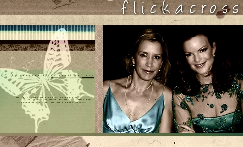 Felicity and Marcia Banner