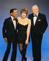 Frank Sinatra, Sammy Davis, Jr. and Liza Minelli