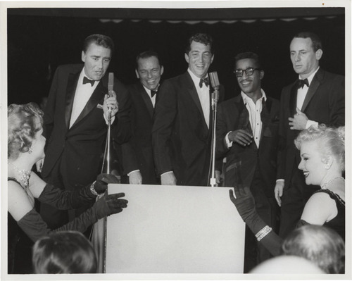 Frank Sinatra and the rata Pack