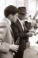 Frank Sinatra with son Frank, Jr.