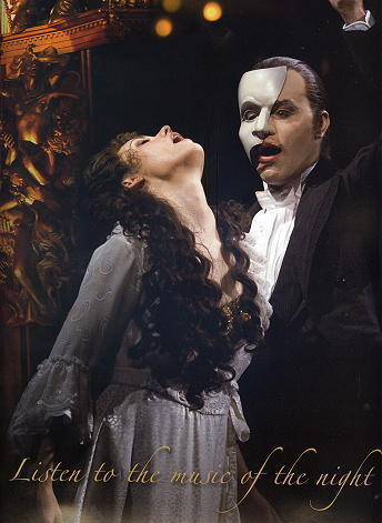 The Phantom Of The Opera wallpaper entitled Gina Beck