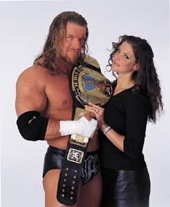 HHH and Stephanie - triple-h-and-stephanie-mcmahon Photo