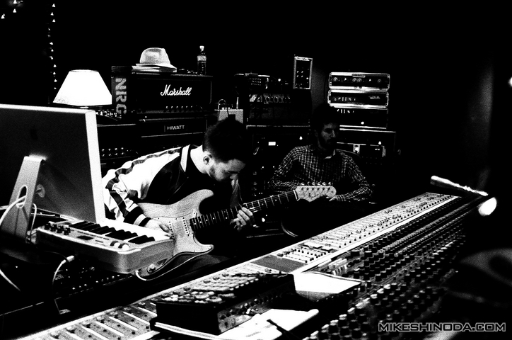 In the studio 09