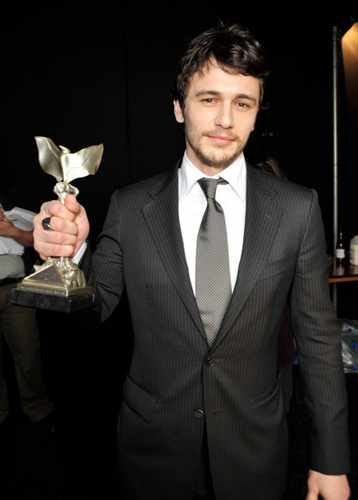 James At 2009 Film Independent Spirit Awards