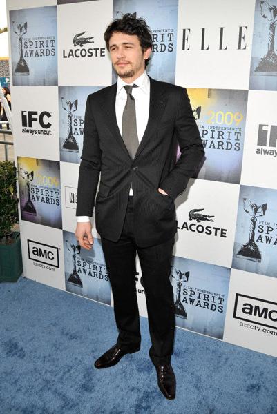 James At 2009 Film Independent Spirit Awards