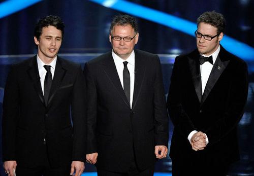 James At Oscars 2009.