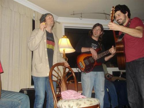 Jason, Ian and Bushwalla