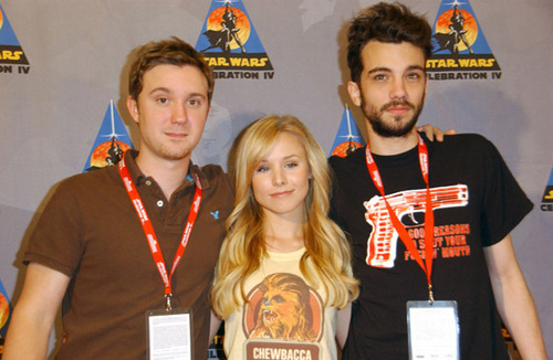 Jay with Kristen Bell & Sam Huntington @ Star Wars Celebration
