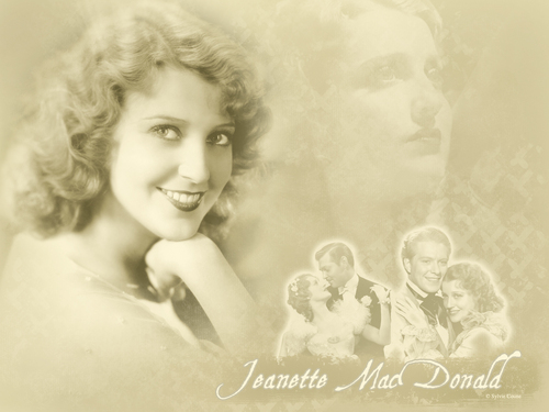 Classic Movies wallpaper possibly containing a hot tub entitled Jeanette MacDonald
