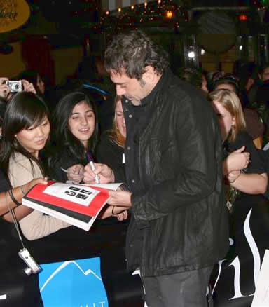 Jeffrey @ 2008 Twilight Premiere
