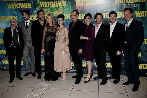 Jeffrey @ 2009 World Watchmen - O Filme Premiere