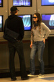 John and Emily Blunt at LAX Airport 17 February 2009 - john-krasinski photo