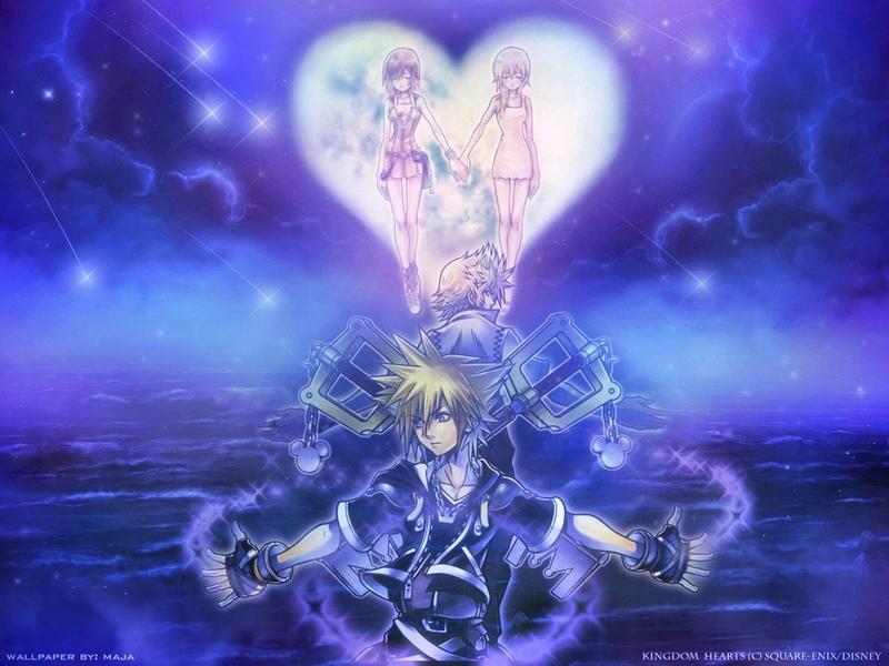 KH2 - Kingdom Hearts 2 Wallpaper (4406244) - Fanpop