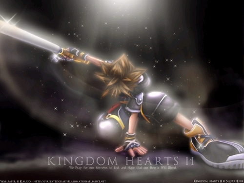 Kingdom Hearts 2 wallpaper entitled KH2