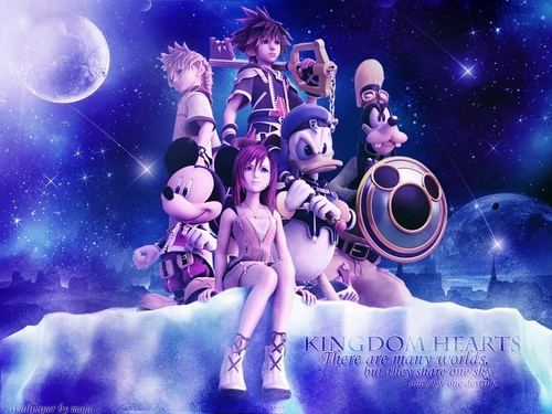 Kingdom Hearts 2 wallpaper titled KH2